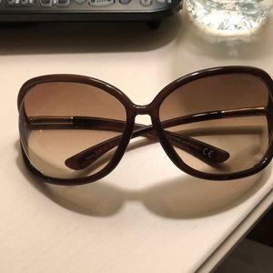 Tom Ford Raquel TF76 sunglasses brown